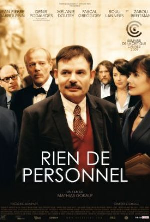 Nothing Personal (Rien de personnel) poster