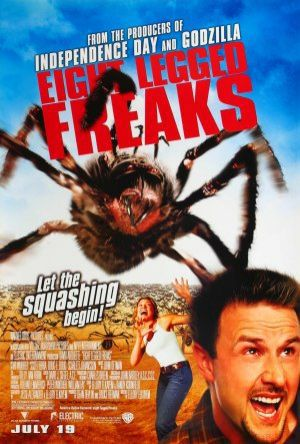 Eight Legged Freaks - Jättespindlarna anfaller poster