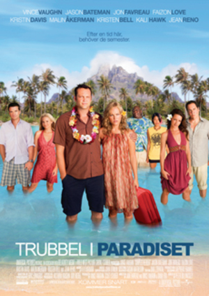 Trubbel i paradiset poster