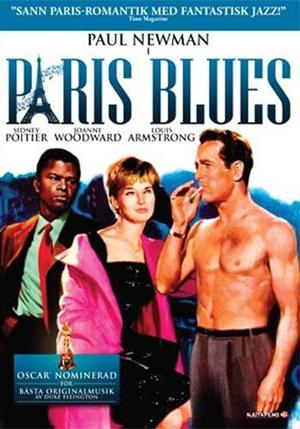 Paris Blues poster
