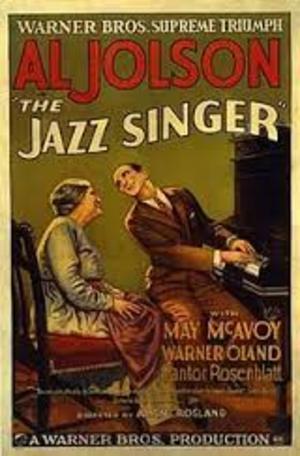 Jazzsångaren poster