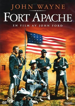 Indianöverfallet vid Fort Apache poster