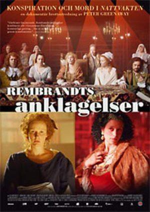 Rembrandts anklagelser poster
