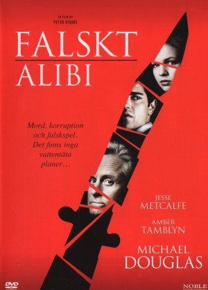 Falskt alibi poster