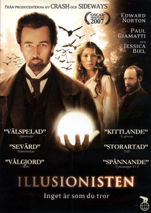 Illusionisten poster