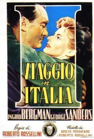 Viaggio in Italia poster