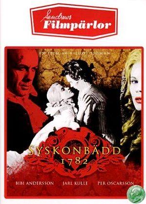Syskonbädd 1782 poster