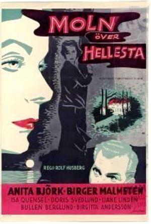 Moln över Hellesta poster