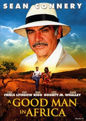 A Good Man in Africa poster