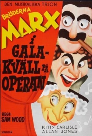 Galakväll på operan poster