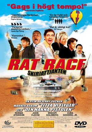 Rat Race - Sk(r)attjakten poster