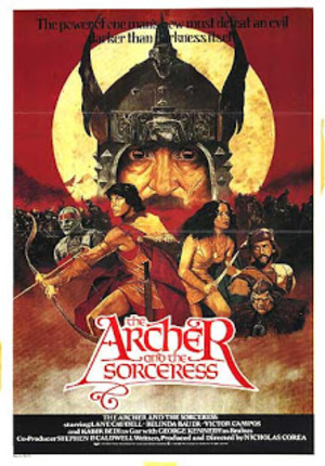 The Archer and the Sorceress poster