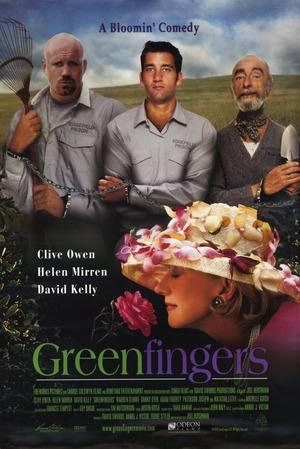 Gröna fingrar poster