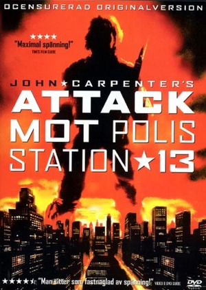 Attack mot polisstation 13 poster