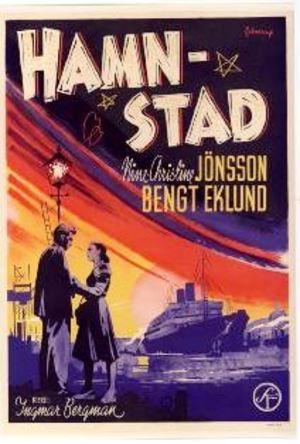 Hamnstad poster