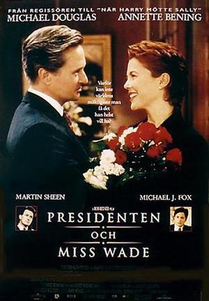 Presidenten och miss Wade poster