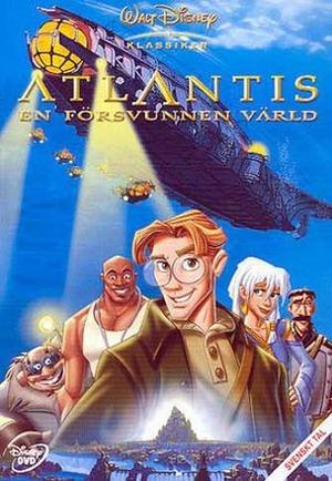 Atlantis - En försvunnen värld poster