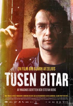 Tusen bitar - en film om Björn Afzelius poster