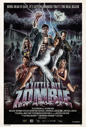 A Little Bit Zombie poster