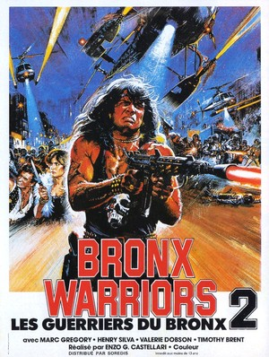 Bronx Warriors 2 poster