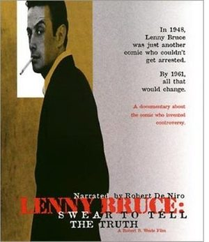 Lenny Bruce: Swear to Tell the Truth poster
