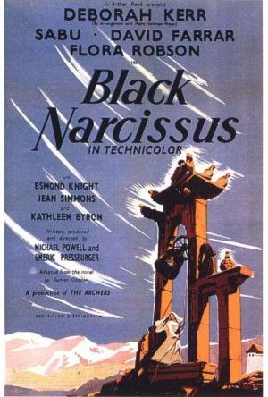 Svart narcissus poster