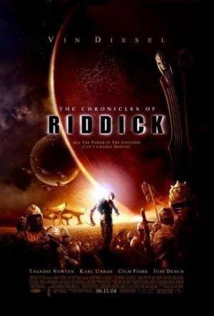 Chronicles Of Riddick poster