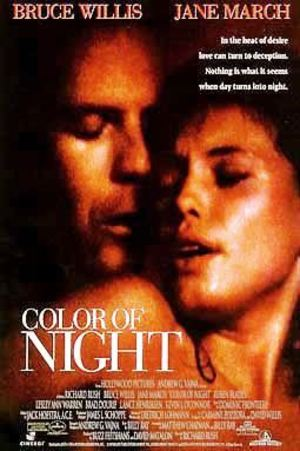 Color of Night poster