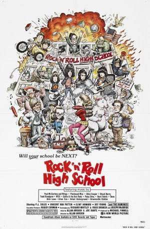 Rock `n´Roll High School poster