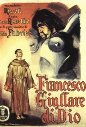 Francesco, giullare di Dio poster
