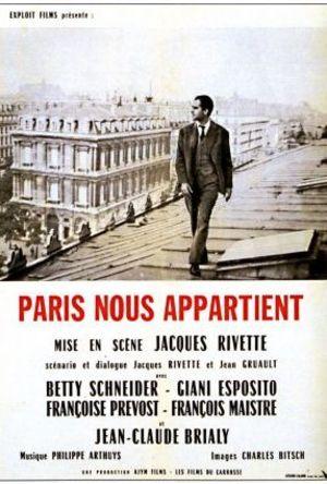 Paris - Öppen stad poster