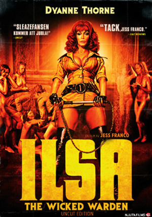 Ilsa, the Wicked Warden poster