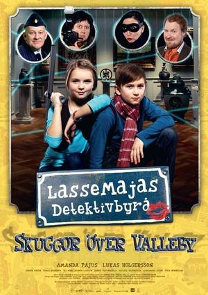 LasseMajas Detektivbyrå - Skuggor över Valleby poster