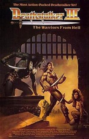 Deathstalker III: The Warriors from Hell poster