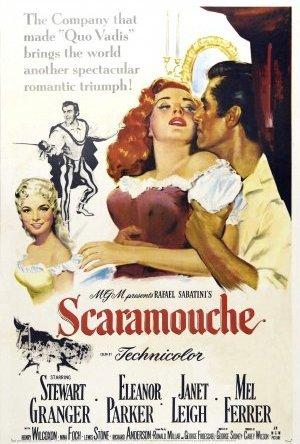 Scaramouche - de tusen äventyrens man poster