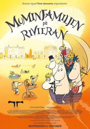 Muminfamiljen på Rivieran poster