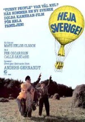 Heja Sverige! poster