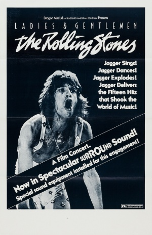 Ladies and gentlemen: The Rolling Stones poster
