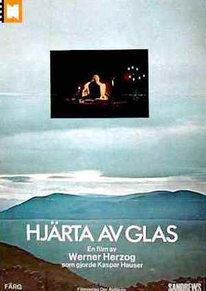 Hjärta av glas poster