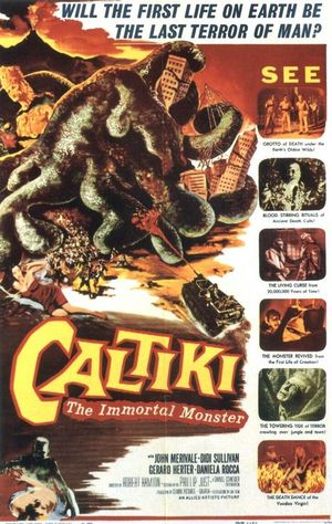 Caltiki, the Immortal Monster poster