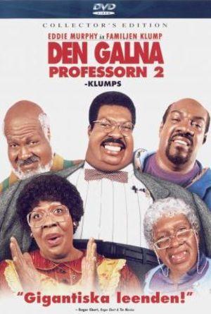 Den galna professorn 2 - Klumps poster