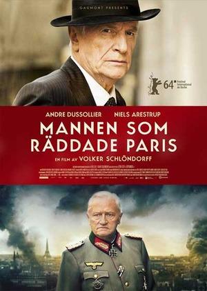 Mannen som räddade Paris poster