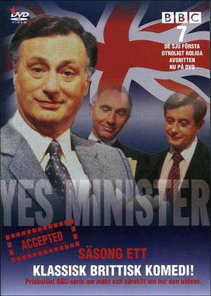 Javisst, herr minister poster