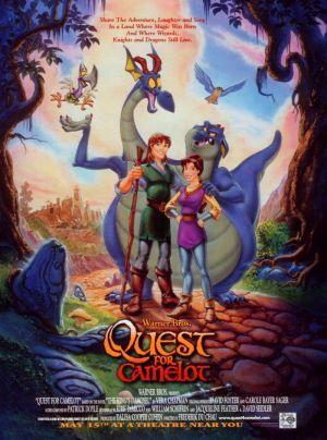 Det magiska svärdet - kampen om Camelot poster