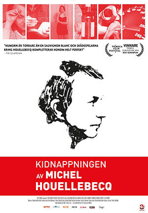 Kidnappningen av Michel Houellebecq poster
