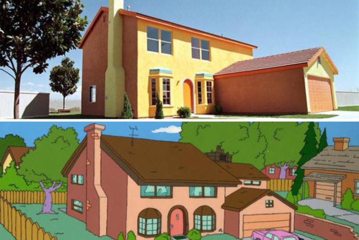 Large simpsonshouse