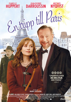 En tripp till Paris poster
