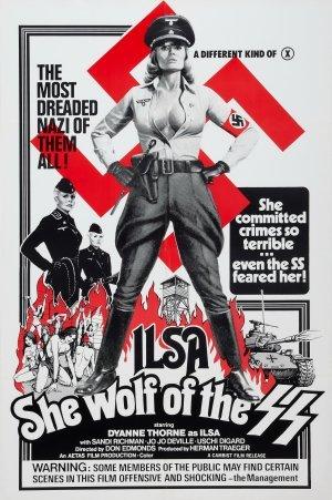 Ilsa: Honvargen från SS poster