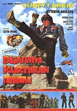 The Man Who Saves the World: Turkish Star Wars poster