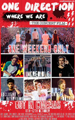 One Direction: Where We Are poster